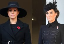 The simple reason Meghan Markle was on a different balcony to Kate Middleton at Remembrance Sunday event Poto C GETTTY