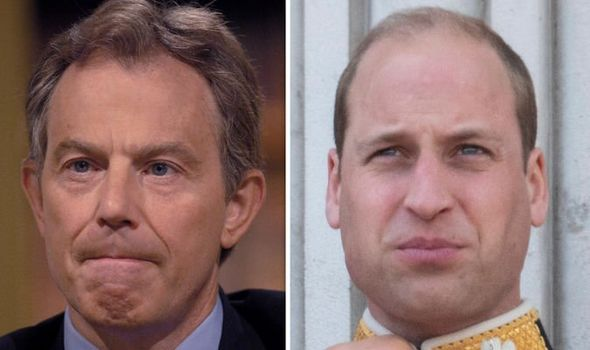 Tony Blair exposed a painful truth of Prince Williams future as King Image GETTY