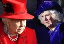 Camilla arriving at church with the Queen and Princess Anne Image REUTERS GETTY