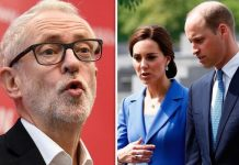 How Jeremy Corbyn mocked William and Kate for not paying any rent in Kensington Image GETTY