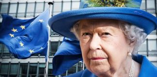 How the Queen was called rude for claiming EU is getting awfully big Image GETTY