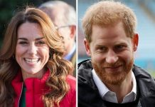 Kate Middleton and Prince Harry Image Getty