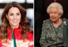 Kate Middleton and the Queen Image Getty