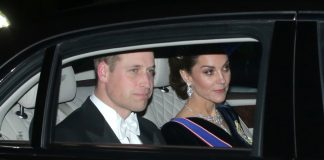 Kate Middleton has a princess moment in dazzling tiara as she attends reception Photo C GETTY IMAGES