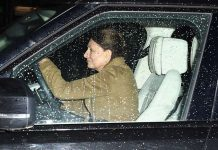 Kate Middleton was pictured leaving Kensington Palace on Wednesday evening Photo C GETTY