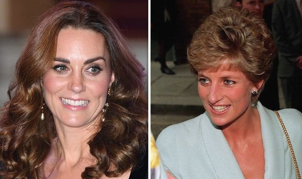 Kate is channelling Diana as she seeks to make the kitchen the heart of the home Image GETTY