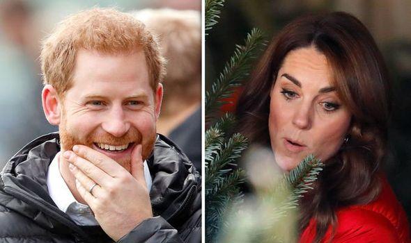 Kate Middleton Prince Harry Christmas present