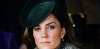 Kate regretted her outfit choice Image Getty Images