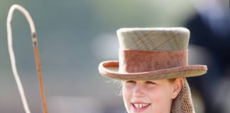 Lady Louise Windsor was spotted horse riding with Prince Edward Photo C GETTY