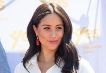 Meghan Markle has been spotted in an unseen photo during her time in Toronto Image GETTY