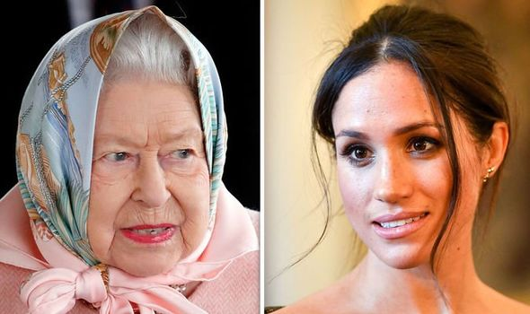 Meghan Markle news: How Duchess left the Queen 'bursting out laughing' with shock gift