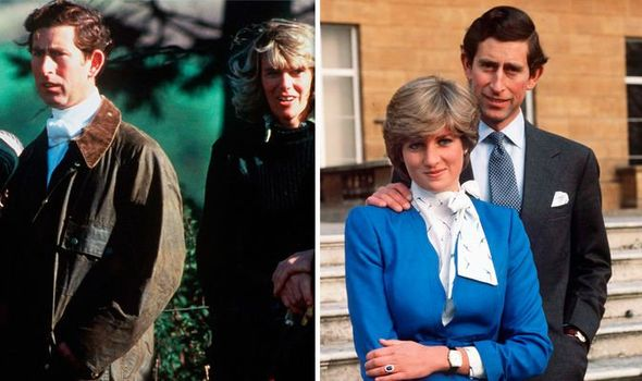 Prince Charles and Camilla had known each other for a decade before he married Diana Image GETTY