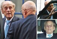 Prince Philip has been discharged from hospital today Image PA