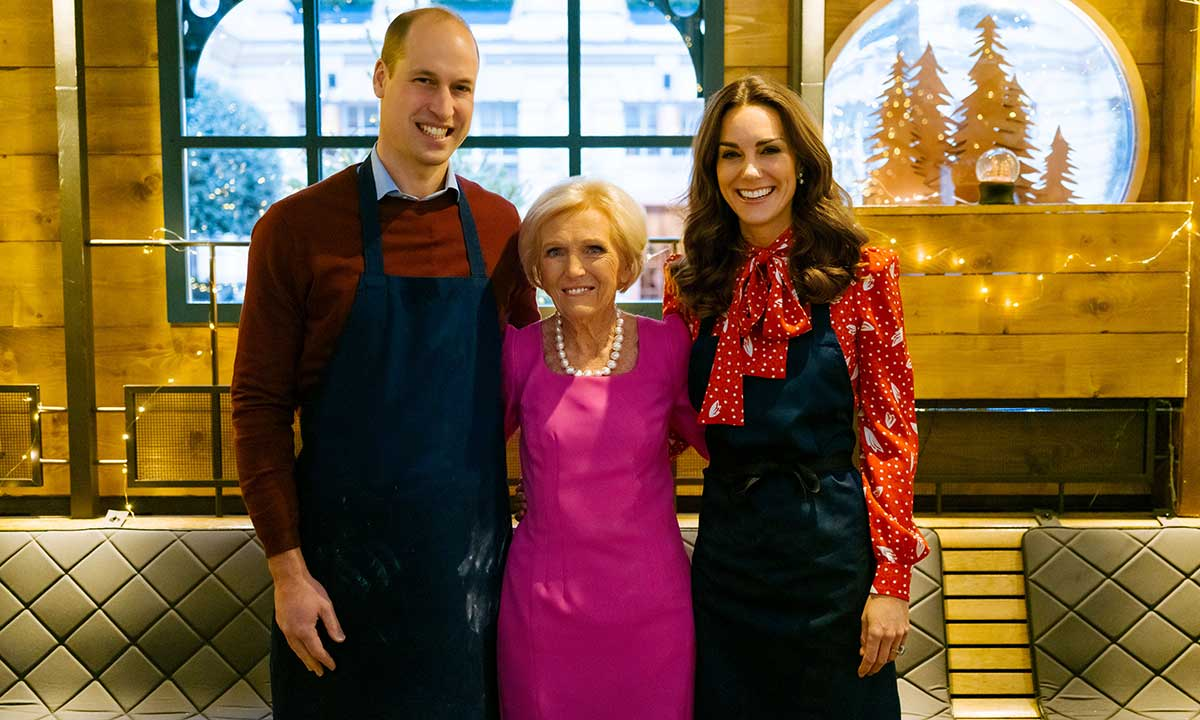Prince William and Kate Middleton team up with Mary Berry for must-see festive TV show ...