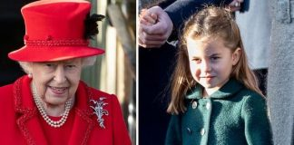Princess Charlotte has stolen the show on Christmas Day Image GETTY