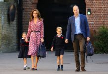 Princess Charlotte news Wills and Kate dropped Charlotte of for her first day of school in September Image GETTY