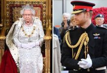 Queen Elizabeth II and Prince Harry Image Getty