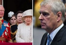 Queen Elizabeth Ii and the Royal Family Prince Andrew Image Getty