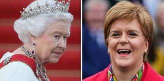 Queen heartbreak Will Queen be axed as Scotland's sovereign if they gain independence Image GETTY