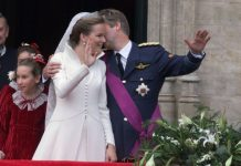 Royal Wedding Queen Mathilde and King Philippe married years ago Image GETTY