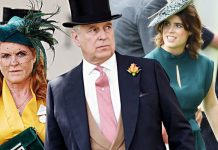 Sarah Ferguson and Prince Andrew Princess Eugenie Image Getty