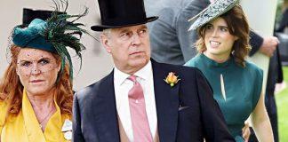 Sarah Ferguson and Prince Andrew Princess Eugenie Image Getty