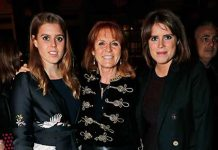 Sarah with daughters Princess Beatrice and Princess Andrew Photo C GETTY