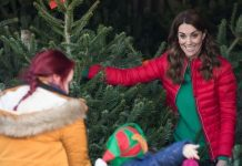 The Duchess revealed which tree she prefers at Christmas Image GETTY