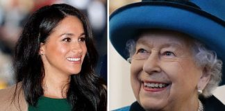 The Queen and the Duchess of Sussex Image Getty