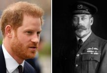 Prince Harry and King George V