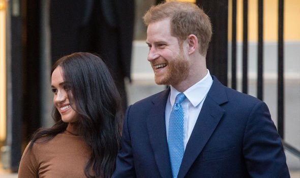 Meghan and Harry returned from Canada earlier this week