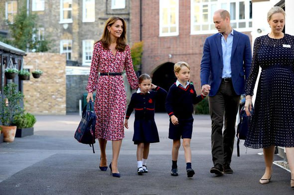 Kate Duchess of Cambridge, Prince William and children