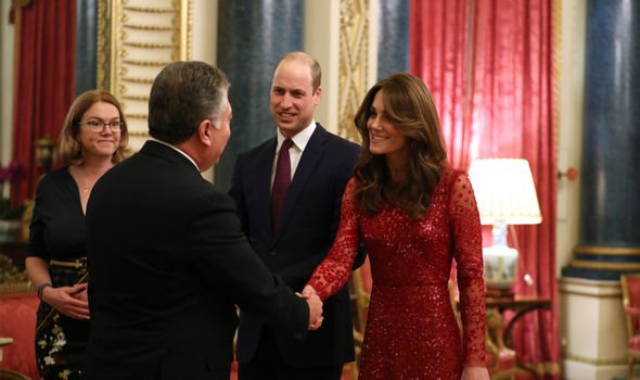 Kate Middleton Prince William latest news Duke Duchess of Sussex palace reception