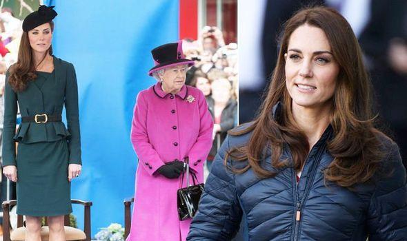 Kate Middleton: Queen body language relationship