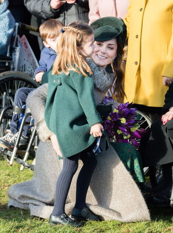 Kate Middleton shock: Charlotte and Kate