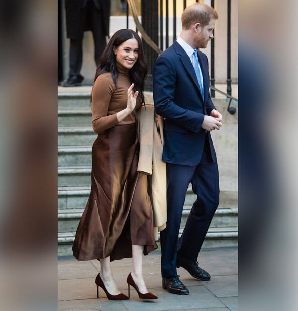 Meghan Markle Prince Harry leave Royal Family Duke Duchess of Sussex latest Canada news