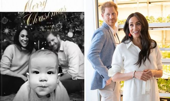 Harry And Meghan 2020 Christmas Card How Meghan and Prince Harry's Christmas card shows they are