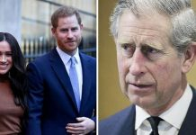 Prince charles fury Prince Harry Meghan Markle step down royal family latest
