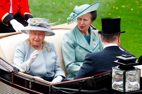 Princess Anne: Royal Queen Elizabeth II