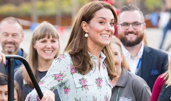 Royal glee: Twitter users said Kate's activity made her 'relatable'