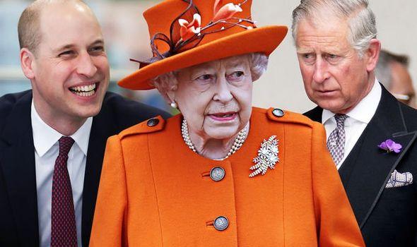 Queen Elizabeth II Charles William Royal Family