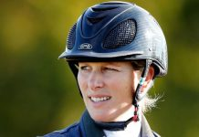 Zara Tindall has revealed her two daughters are taking after her with horse riding Image GETTY