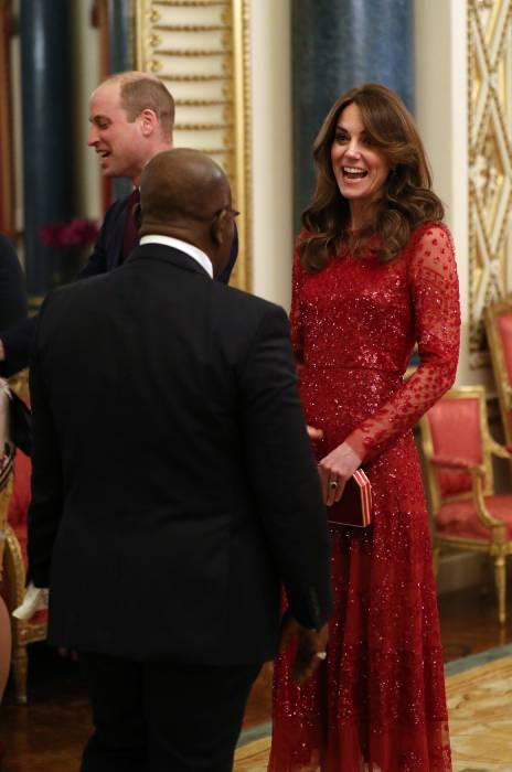 kate-middleton-red-dress-reception
