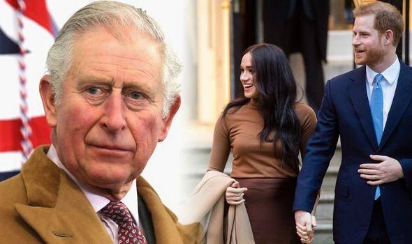 Prince Charles, Meghan Markle and Prince Harry