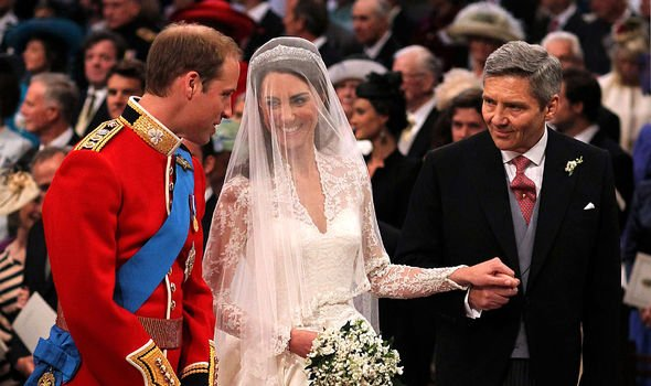 William is now Mr Middleton's 'son-in-law'