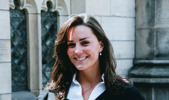 Kate on her graduation day in 2005