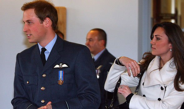 William and Kate in 2008