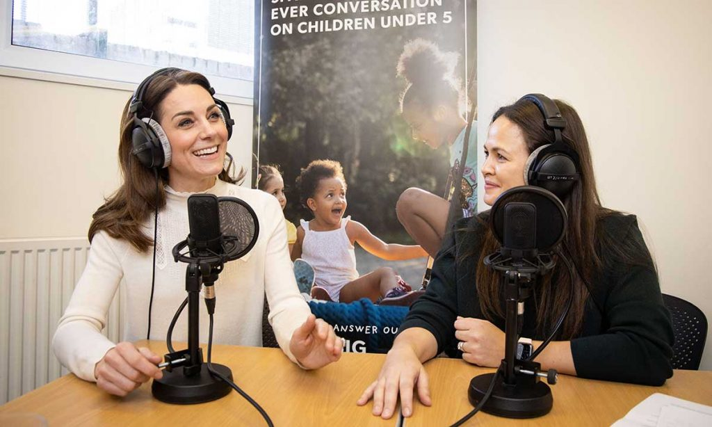 Duchess Kate recalls sweet childhood memories with granny as she gives her first podcast interview with Giovanna Fletcher Photo C GETTY IMAGES