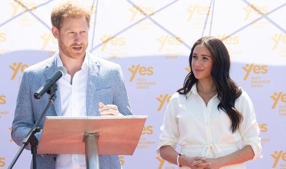Earlier this year the couple said they wanted to step away from senior Royal Family
