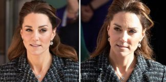 Kate Middleton embarrassed